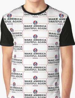Make America Grateful Again (Black) Graphic T-Shirt