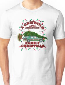 National Lampoon's - Christmas Tree Car Variant Unisex T-Shirt
