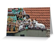 Rooftop Icons Greeting Card