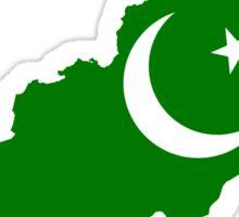 Pakistan Flag Map Sticker