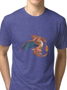 Charizard - Pokemon Tri-blend T-Shirt