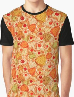 Physalis pattern Graphic T-Shirt