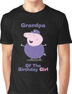 Grandpa (HBD) girl Graphic T-Shirt
