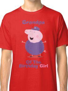 Grandpa (HBD) girl Classic T-Shirt