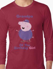 Grandpa (HBD) Long Sleeve T-Shirt