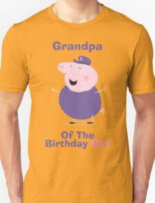 Grandpa (HBD) girl Unisex T-Shirt