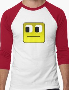 Smiley Face Men's Baseball ¾ T-Shirt