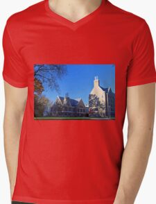 University of Toledo- Sullivan Hall and Academic House Mens V-Neck T-Shirt