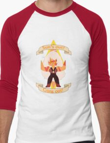 Steven universe Jasper Suns out? Guns out! Men's Baseball ¾ T-Shirt