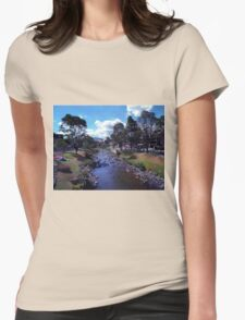 Along The Banks Of The Tomebamba Womens Fitted T-Shirt