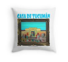 Casa de Tucumán por Diego Manuel Throw Pillow