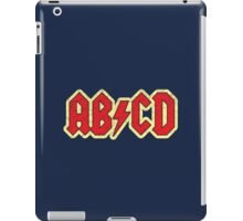 Vintage ABCD Rock & Roll iPad Case/Skin