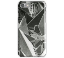 Kidney stone electron micrograph iPhone Case/Skin