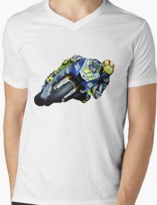 Valentino Rossi Mens V-Neck T-Shirt