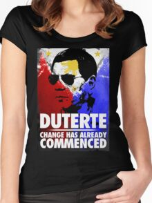 16th President of the Philippines Women's Fitted Scoop T-Shirt