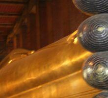 Reclining Buddha Bangkok Sticker