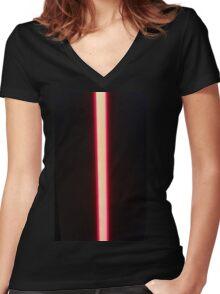 68 Redline Women's Fitted V-Neck T-Shirt