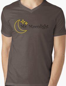 Mr Moonlight The Beatles Song Lyrics 60s Rock Music Lennon Mens V-Neck T-Shirt