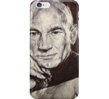 CAPTAIN JEAN LUC PICARD iPhone Case/Skin