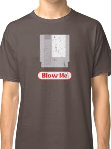 Blow Me - Vintage Nintendo Cartridge Classic T-Shirt