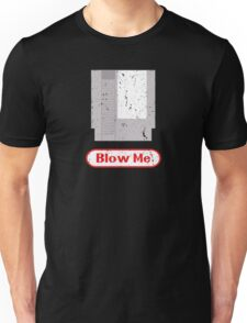 Blow Me - Vintage Nintendo Cartridge Unisex T-Shirt