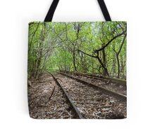 Lost rails Tote Bag