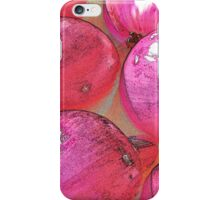 Rainbow Confetti Red Onions iPhone Case/Skin