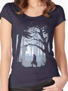 Hunter Women's Fitted Scoop T-Shirt