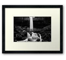 Black & White Flow Framed Print