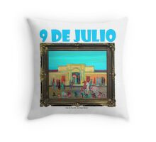 9 de Julio por Diego Manuel Throw Pillow