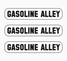 THREE Gasoline Alley stickers! by GentryRacing