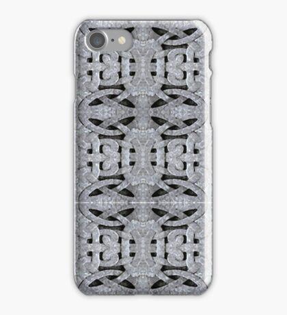 Ornamental Stone Background Pattern iPhone Case/Skin