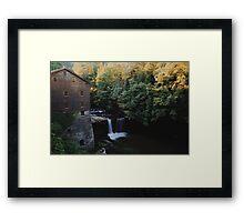 Lanterman's Falls - Ohio Framed Print