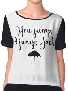 Gilmore Girls - You Jump, I jump, Jack Chiffon Top