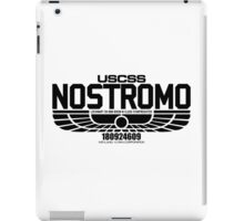 NOSTROMO ALIEN MOVIE STARSHIP (BLACK) iPad Case/Skin