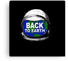 Back to earth Canvas Print
