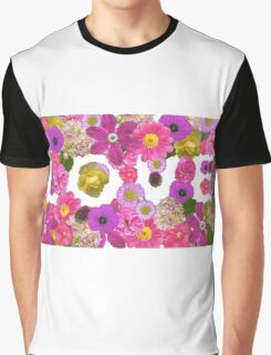 Love, floral, photography, pink Graphic T-Shirt