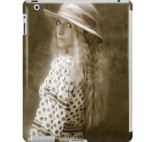 The look of vintage iPad Case/Skin