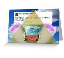 Based Canti Greeting Card