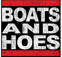 Boats and Hoes - Hip Hop Style Photographic Print