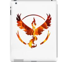 Pokemon Team Valor Flame Logo iPad Case/Skin