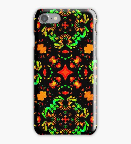 Vibrant Colors Refined Ornament iPhone Case/Skin