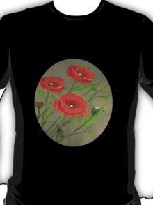 Poppies-3 T-Shirt