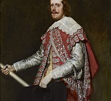 King Philip IV of Spain (c. 1644) by PattyG4Life