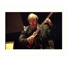 John Abercrombie, Guitarist. Art Print