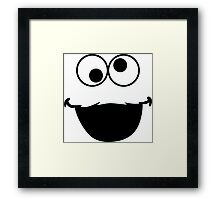 Elmo Face Framed Print