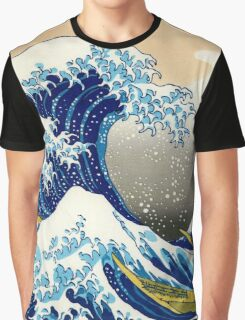 Katsushika Hokusai - The Great Wave off Kanagawa Graphic T-Shirt