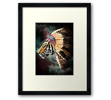 Fight For What You Love (Chief of Dreams: Tiger) Framed Print