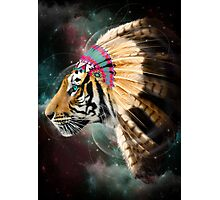 Fight For What You Love (Chief of Dreams: Tiger) Photographic Print