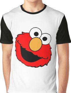 Elmo Big Smile Graphic T-Shirt